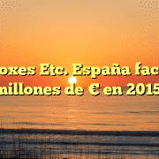 Mail Boxes Etc. España factura 75 millones de € en 2015