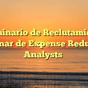 Seminario de Reclutamiento Webinar de Expense Reduction Analysts