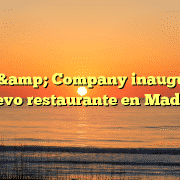 Pans & Company inaugura un nuevo restaurante en Madrid