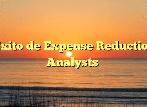 Éxito de Expense Reduction Analysts