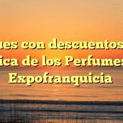 Cheques con descuentos de La Botica de los Perfumes en Expofranquicia