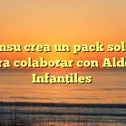 Disconsu crea un pack solidario para colaborar con Aldeas Infantiles