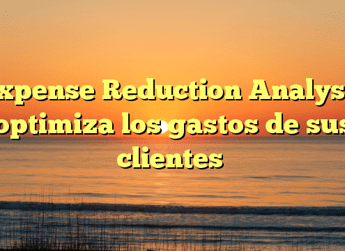 Expense Reduction Analysts optimiza los gastos de sus clientes