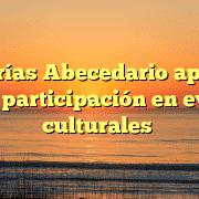 Librerías Abecedario apuesta por la participación en eventos culturales