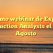 Próximo webinar de Expense Reduction Analysts el 4 de Agosto